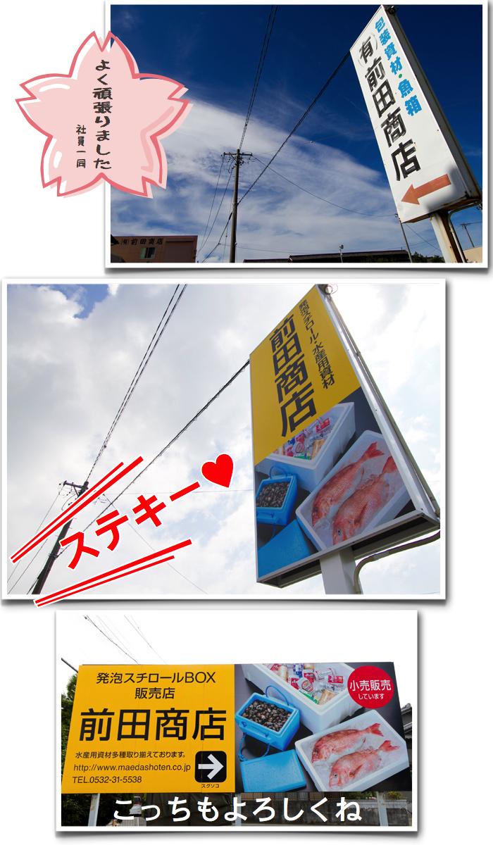 前田商店 新看板